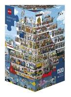 HEYE JIGSAW PUZZLE LYON: CRUISE 1500 PCS COMICS TRIANGULAR BOX #29697