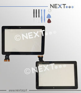 "Touch screen per schermo Asus Memopad 10"" ME103 ME103c ME103k nero + kit"