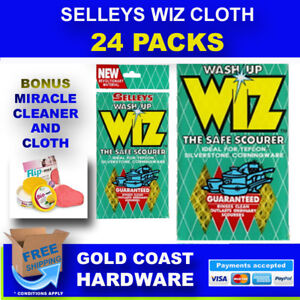 24 X Selleys Wash Up Wiz The Safe Scourer For Daily Use