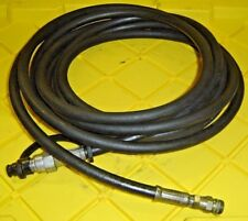 20' Black Hydraulic Hose for Amkus Hurst Code 3 Fire Rescue Tool