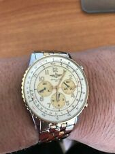 BREITLING NAVITIMER 92 GOLD & STAINLESS STEEL / MODEL D30022