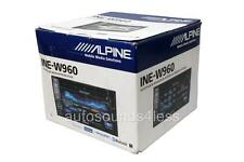 "Alpine Double Din INE-W960 DVD/MP3/WMA Player 6.1"" LCD GPS Navigation Bluetooth"