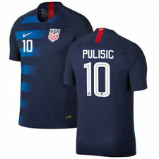 2018 USA Away Jersey #10 Pulisic Nike Soccer World Cup USMNT NEW