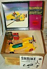 COX 1969 SHRIKE SALT FLATS .049 Gas Engine Powered PROP ROD TETHER RACE CAR~wBOX