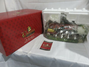 THE BAUERNHOF AT GRANT'S FARM Figurine Clydesdale Collection Anheuser-Busch NIB!