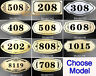 15X7.5 CM House Hotel Office Desk Apartment Address Sign Engraved Number Plaque