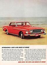 Print.  Red 1962 Dodge Dart 440 Auto Ad