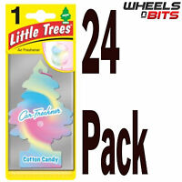 24 x Magic Tree Cotton Candy Scent Magic Little Trees Car Home Air Freshener