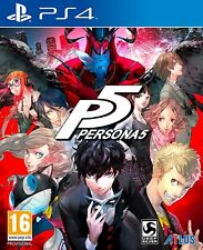 Persona 5 (PS4) Brand New & Sealed UK PAL Free UK Shipping Quick Dispatch