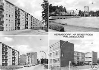 AK, Hermsdorf Kr. Stadtroda, Waldsiedlung, vier Abb., 1975