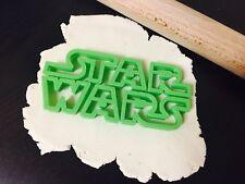Star Wars Logo cookie cutter fondant cake decoration UK Seller