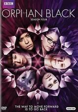 Orphan Black: The Complete Fourth Season 4 (DVD, 2016, 4-Disc Set) New