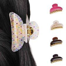 Accessoires de coiffure pinces à cheveux en plastique pour femme