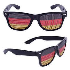 Sonnenbrille Fussball EM 2016 Deutschland Fußball Party Nerd Brille Fanartikel