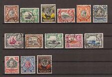Kenya Uganda Tanganyika 1935-7 SG 110/23 Fine Used Cat £550