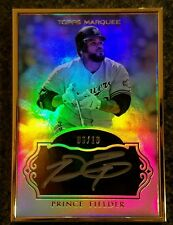 2011 Topps Marquee - Museum Collection - Prince Fielder Autograph #06/10 #MCA-PF