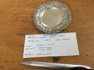 Peruzzi Of Florence  800 Silver Dish