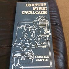 COUNTRY MUSIC CAVALCADE-NASHVILLE GRAFFITTI-2 SEALED Cds ring of fire more nip