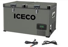 Iceco Vl60 Dual Zone Portable Freezer Fridge 66Qt Refrigerator Camping Outdoor