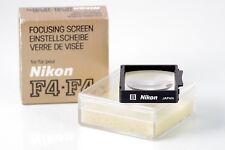 NIKON SCREEN ORIGINAL ACCESORY PARA F4 F4S F4E SERIES NEAR MINT BOXED
