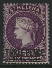 ST. HELENA, MINT, #27, OG LH, VERY ATTRACTIVE, NICE CENTERING