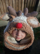 KNITTING PATTERN TO MAKE 'WHAT'S THAT ON YOUR HEAD' HATS FROM BABY TO ADULT