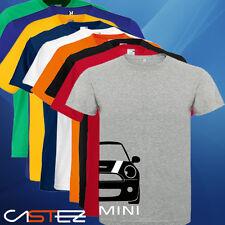Camiseta coche mini basado cooper S one rally tuning sport car ENVIO 24/48h