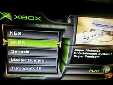 Original Xbox Modded NES, SEGA, SNES, TURBOGRAFX-16, PS1, GB, N64