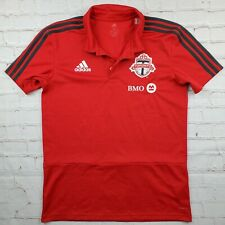 Toronto FC Adidas POLO Shirt Golf Mens M Medium Soccer MLS