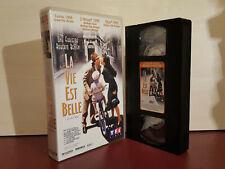 La Vie Est Belle - La vita è bella - FRENCH - SECAM VHS Video Tape (T68)