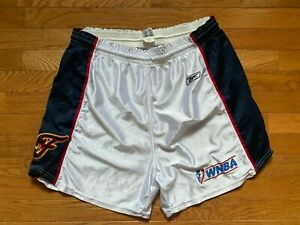 WNBA Vintage Indiana Fever  Shorts Size 16 L Sewn Lady Champion Team Issue ?