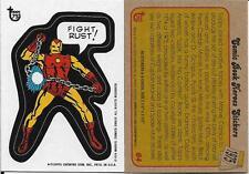 2013 Topps 75th Anniversary #64 Comic Book Hereos Sticker > Iron Man > 1974