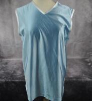 Nike Women's Light Blue Sleeveless Tank Top Size Medium (8-10)  Made in U.S.A.