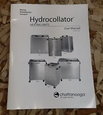 Chattanooga Hydrocollator Heating SS, E-1, E-2, M-2. SS-2, M-4 User Manual