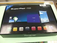 "BRAND NEW iVIEW-1070TPC SuperPad  Dual-Cam 1GB RAM, 10.1""  Android 6.0 Tablet"