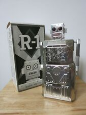 ROBOT R-1 - versione Bare Metal-by Rocket USA. TIN ROBOT SPACE TOY