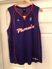 PHOENIX MERCURY Adidas WNBA Purple Basketball Jersey Adult Size Extra Large XL