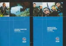 PADI Course Director Manual & Instructor Development Course Lesson Guides PC DVD