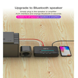NFC Bluetooth5.0 Stereo Musikempfänger AUX3,5 mm Klinkenadapter Universal