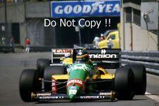 Thierry Boutsen Benetton B187 Detroit Grand Prix 1987 PHOTO