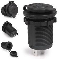 DC 12V Waterproof Car Boat Motorcycle Cigarette Lighter Socket Outlet Power Plug