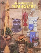 Accenting with Macrame Hangers Towel Plant Holders Home Decor Patterns