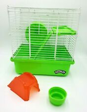 Super Pet You & Me 2 Story Hamster Habitat Cage Gerbil Rodent Small Animal Green