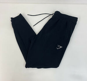 Gymshark Joggers Sweatpants Black Slim Fit Sz XL Mens