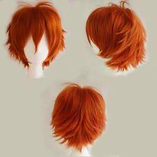 Fashion Cosplay Hair Wig Women Men Short Straight Fluffy Anime Costume Full Wigs