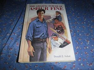ksm. Book The Amazing Power of Asher Fine Donald J. Sobol  Just For Boys Weekly