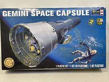 RARE NEW 2014 REVELL GEMINI SPACE CAPSULE PLASTIC MODEL KIT 1:24 SCALE #85-1836