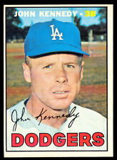 1967 TOPPS OPC O PEE CHEE BASEBALL #111 John Kennedy EX-NM Los Angeles Dodgers