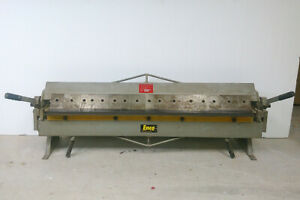 "Enco 48"" Bending Length Bench Press Brake 22 ga in Mild Steel, Box & Pan Brake"