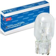 10x W21W 12V 21W xenohype  Glassockel Lampen W3x16d T20 12 V